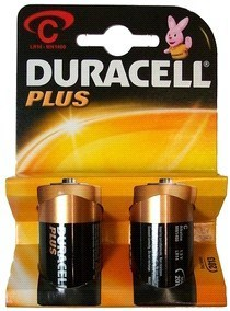 PILE DURACELL 1/2 TORCIA PZ.2