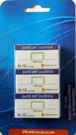 PUNTI CUCITRICE TASCA BLISTER